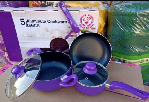 Cookware set 5pcs