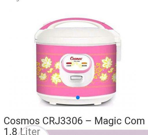 Cosmos Penanak Nasi Serbaguna