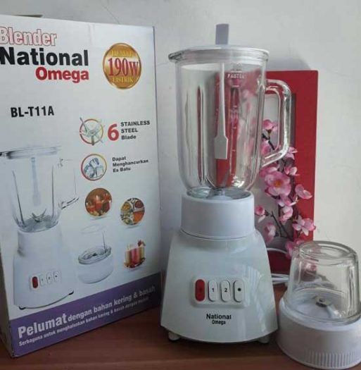 Murah Blender National 6 mata pisau