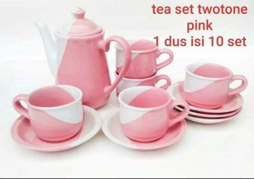 Teas Set Two Tone