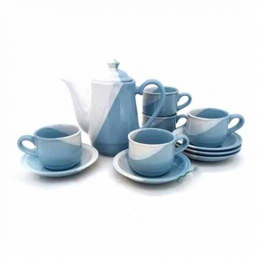 Agen Tea set warna TwoTone