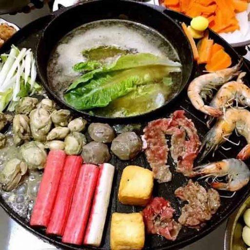 Korean Style Electrik Grill Pan