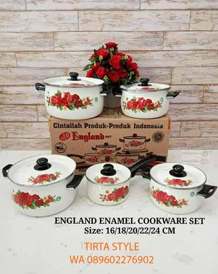 Panci Set Cookware England