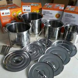 Steamer Stock Pot Dandang Stainless