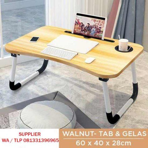 Meja Laptop Portable Multifungsi