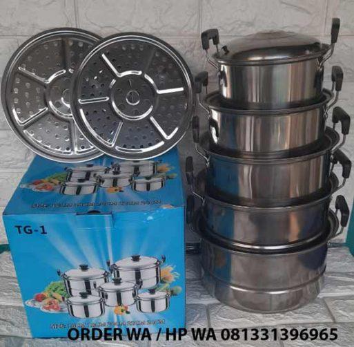 Panci Steamer 5 Set