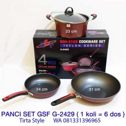 Peralatan Dapur Panci Teflon Set
