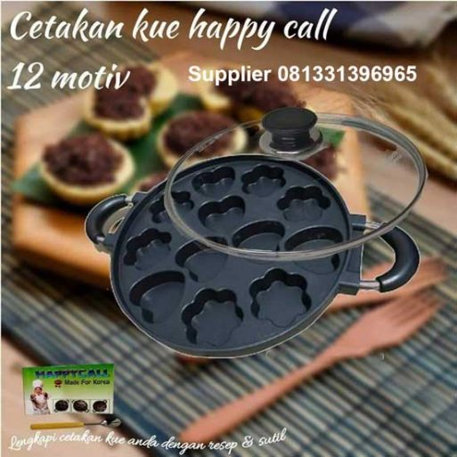 Cetakan Kue Happy Call 12 Lubang