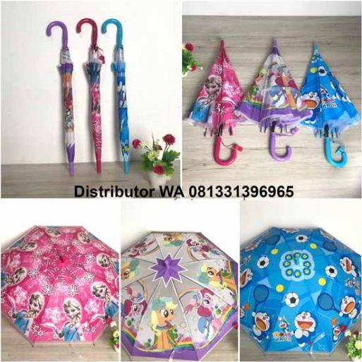 Payung Karakter Anak Lucu FAP01