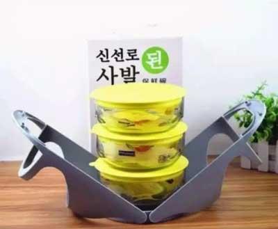 Rantang Kaca Korea