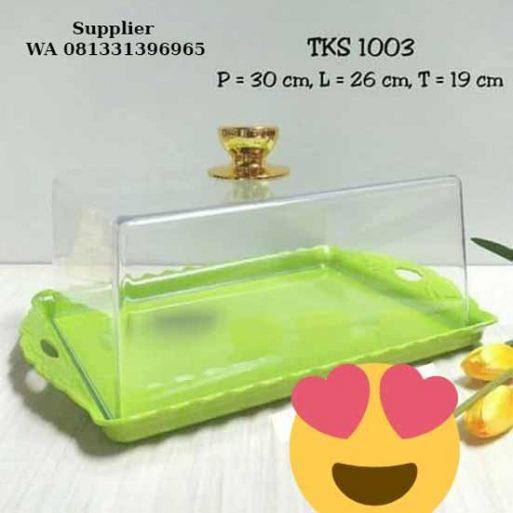 Tempat Kue Plastik Kotak