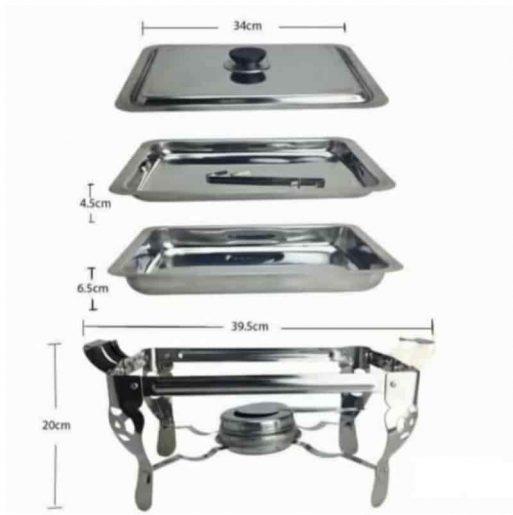 Prasmanan Chafing Stove stainless steel
