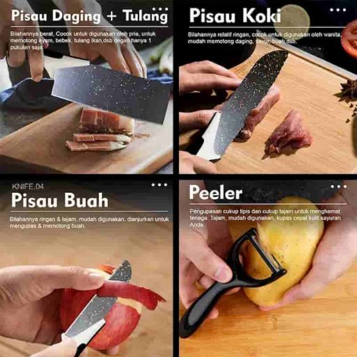 pisau set terbaik
