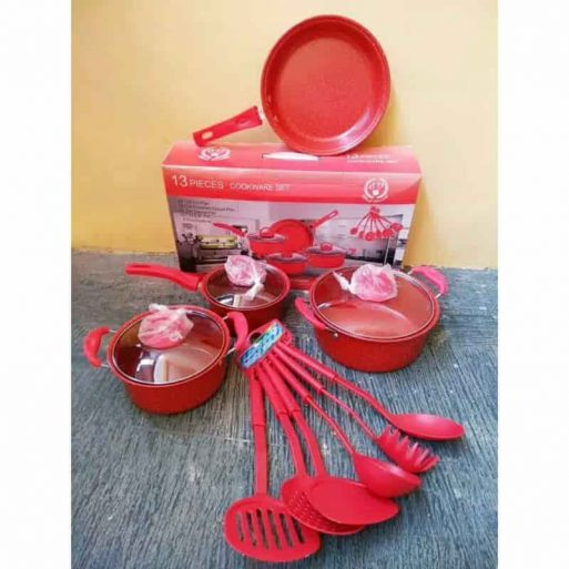 Panci Set Warna 13 Pcs