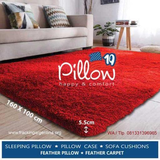 Karpet Bulu Asli Pillow