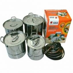 Steamer Stock Pots 555