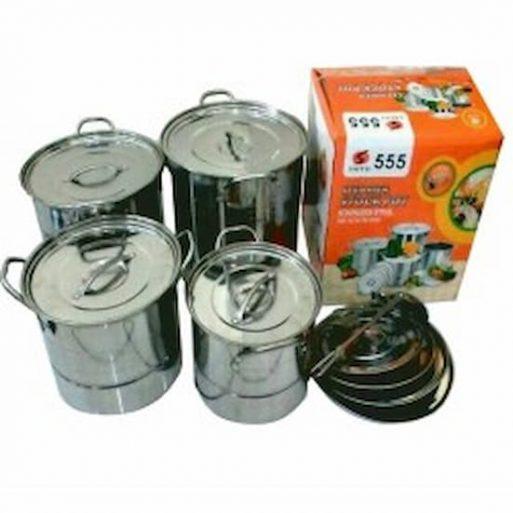 Steamer Stock Pots 555