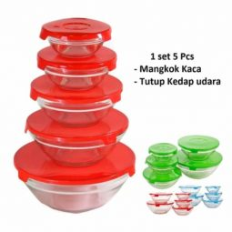 Termurah Glass Bowl Set