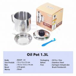 Oil Pot Royalton Plus Saringan