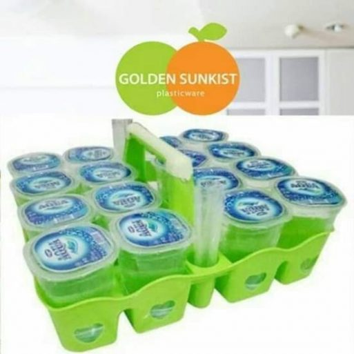Tempat Aqua Gelas Plastik