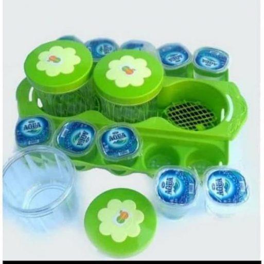 Toples Set Aqua Gelas Plastik