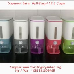 Dispenser Beras Multifungsi 12 Liter Jagoo