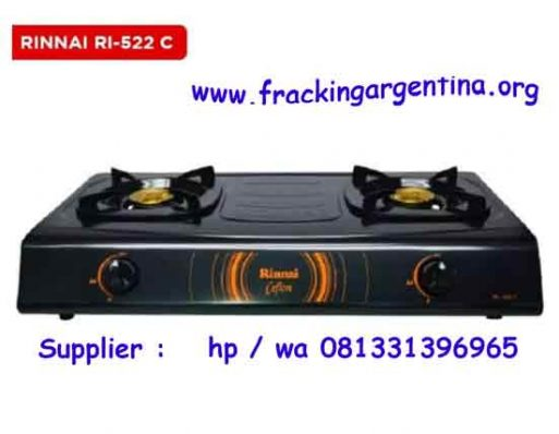 Kompor Gas Rinnai 2 Tungku