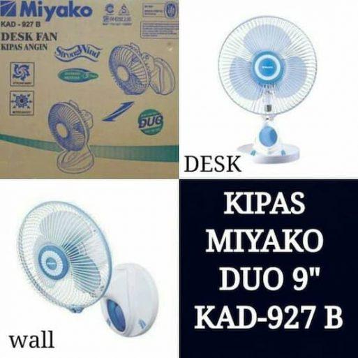 Kipas Angin Dinding Meja Miyako KAD927