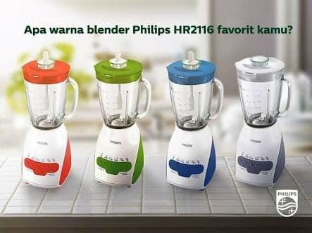 Blender Philips Kaca HR2116