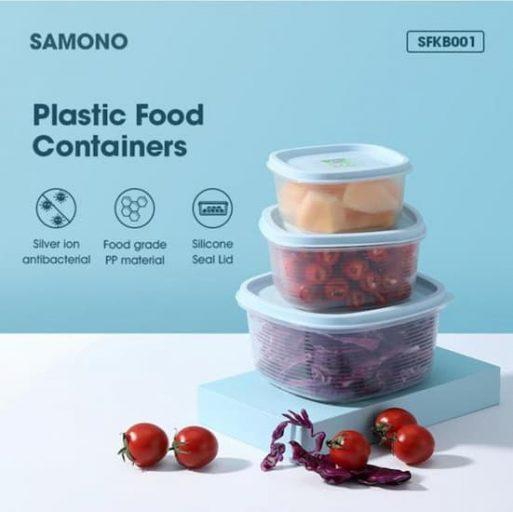 Kotak Makan Transparan Food Grade